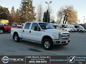 2012 FORD F-250 XLT SUPER DUTY XLT CREW CAB SHORT BOX 4X4