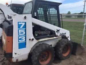 1993 BOBCAT 753F SKID STEER LOADER