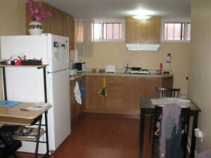 Basement Rent Furnished/ Finch Subway