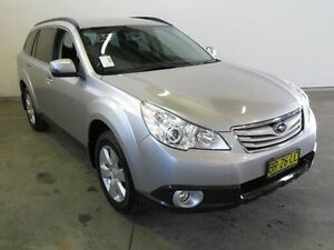 2012 Subaru Outback MY12 2.5I Silver Continuous Variable Wagon Westdale Tamworth City Preview