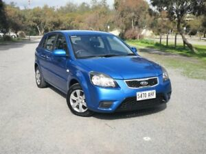 2010 Kia Rio JB MY10 S Blue 4 Speed Automatic Hatchback Mile End South West Torrens Area Preview