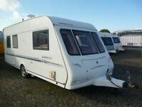 Compass Omega 505, * SOLD * 2004 Model 5 Berth, with Full Awning & Motor Mover