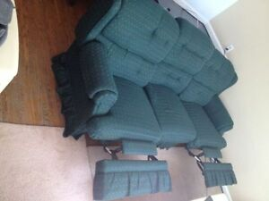 recliner sofa and recliner rocking chair