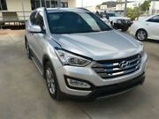 2013 Hyundai Santa Fe DM Elite CRDi (4x4) Silver 6 Speed Automatic Wagon Bohle Townsville City Preview