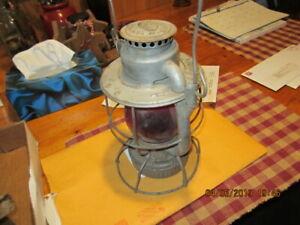 Vintage  Vermont Railway Lantern