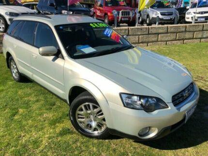 2005 Subaru Outback B4A MY05 AWD Gold 4 Speed Sports Automatic Wagon Wangara Wanneroo Area Preview