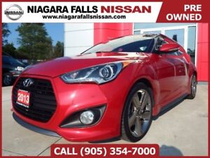 2013 Hyundai Veloster TURBO| PANORAMIC | 6SPD | LEATHER