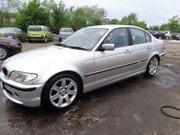 2003 BMW 330se Auto 4 door 73,500 Miles MOT'd 1 Year £1395