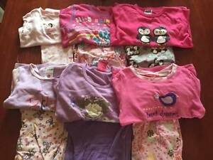 Assorted Size 4 and 5 Girls Pjs Dunlop Belconnen Area Preview