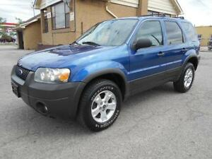 2007 FORD Escape XLT 3.0L V6 FWD Certified & E-Tested 158,000KMs