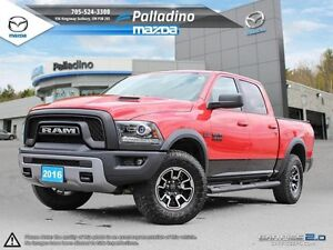2016 Ram 1500 REBEL- SHOW STOPPER- TOUCHSCREEN-SPORTY-FLASHY