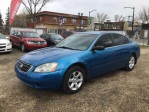 2003 Nissan Altima S, Manual, Remote Car Starter, No Accidents