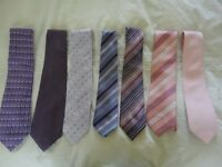 MEN'S TIES , NEW, UNUSED.