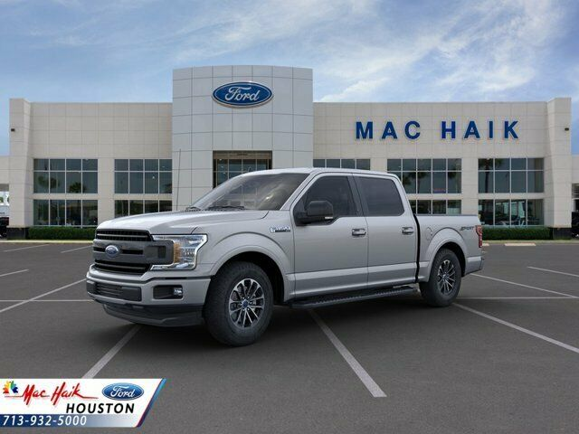 2020 Ford F-150 XLT 9924 Miles Iconic Silver Metallic Crew Cab Pickup Regular Un