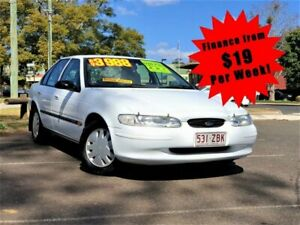 1996 Ford Falcon EL GLi Sedan 4dr Auto 4sp 4.0i White Automatic Sedan South Toowoomba Toowoomba City Preview