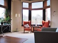 Large sunny 2 bed flat ( 8m x 3m hall) with open aspect views across park