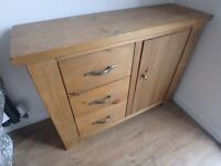 Oak Sideboard Hudson Range by Next - Rustic Finish - Other items from same range
