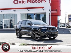 2017 Jeep Grand Cherokee LIMITED - 4X4, NAVIGATION, LEATHER INTE