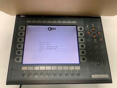 Mitsubishi E900 T Hmi Operator Panel Type03010g - Used