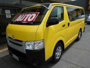 2014 Toyota HiAce TRH201R MY14 LWB Yellow 4 Speed Automatic Van West Hindmarsh Charles Sturt Area Preview