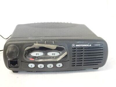 Motorola Radio Cdm750 Aam25shc9aa1an Uhf 450-512 Mhz 1-25 W