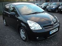 TOYOTA COROLLA 2.2 VERSO TR D-4D 7 SEATER 135 BHP (black) 2007
