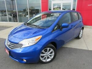 2014 NISSAN VERSA SL PKG ALLOYS H-SEATS CAMERA FINANCE FROM 2.9%