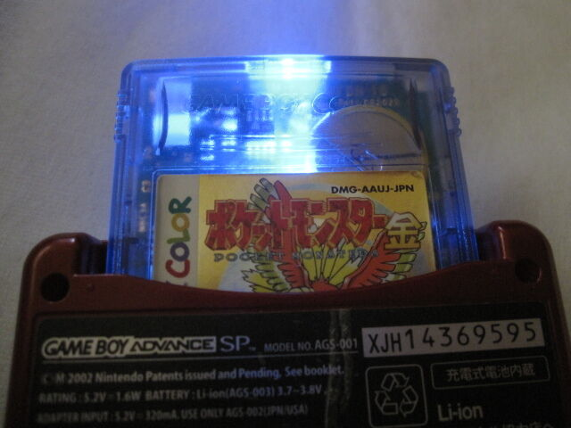 Shining Custom Game Boy Color POKEMON Gold new backup Nintendo  japanese