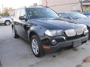 2007 BMW X3 3.0si All Wheel Drive  Clean Carproof Leather AIR