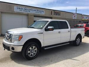 2010 Ford F-150 LARIAT-SUPER CREW-4X4-LEATHER-LOADED
