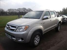 TOYOTA HILUX HL3 SWB 4X4 DCP, Silver, Manual, Diesel, 2006