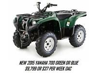 GREAT SELECTION OF NEW AND LEFT OVER ATV'S ONLY AT RAE'S