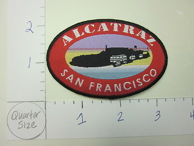 Alcatraz San Francisco California Applique Iron On Patch (Vintage)