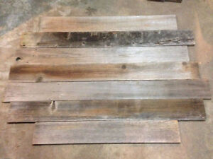 Seeking old fence boards for cash. Or free help with your demo