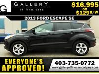 2013 Ford Escape SE $129 Bi-Weekly APPLY NOW DRIVE NOW