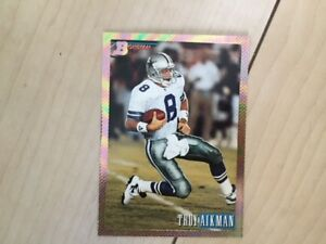 Mint 1993 Bowman football card set with gold foil cards