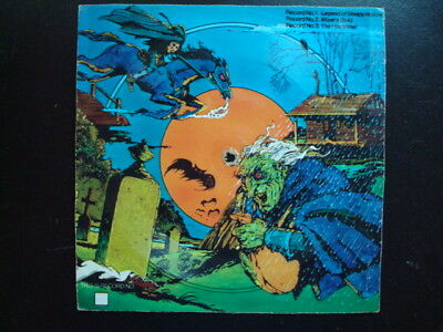 70'S HALLOWEEN CEREAL BOX RECORD NO 1 SLEEPY HOLLOW (70s Halloween Records)