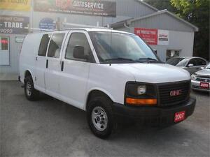 2007 GMC Savana Cargo Van 2500| MUST SEE| NO RUST| SHELVING UNIT