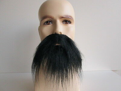 FULL BEARD MOUSTACHE MUSTACHE SET PIRATE KUNG FU MASTER COSTUME BEARD MOUSTACHE  - Pirate Beard
