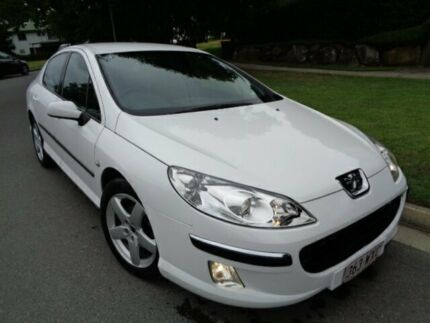2006 Peugeot 407 MY06 Upgrade ST HDI Executive White 6 Speed Tiptronic Sedan