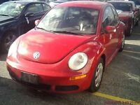 2007 Volkswagen New Beetle Coupe (2 door)