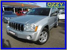 2007 Jeep Grand Cherokee WH Limited (4x4) Silver 5 Speed Automatic Wagon Penrith Penrith Area Preview