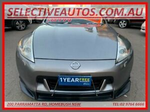 2009 Nissan 370Z Z34 Silver 7 Speed 7 SP AUTOMATIC Coupe Homebush Strathfield Area Preview