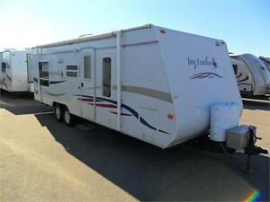 2007 26 FT JAYCO JAY FEATHER EXP 254 EXPANDABLE
