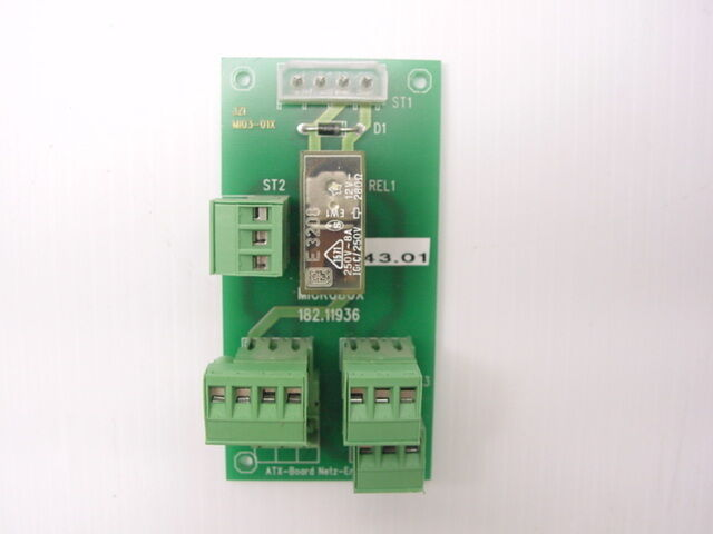 Microbox Polyscan 400 Terminal Block ATX 182.11936