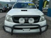 2010 Toyota Hilux KUN16R 09 UPGRADE MY10 SR White 5 Speed Manual Dual Cab Earlville Cairns City Preview