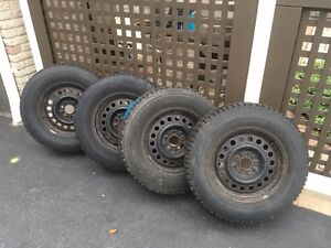"""Great winter tires with 17"""" Rims"""