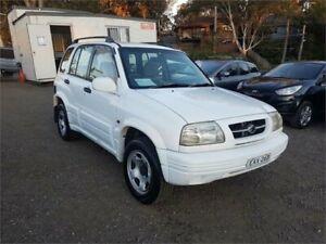 1999 Suzuki Grand Vitara SQ420 Type1 White Automatic Wagon Lansdowne Bankstown Area Preview