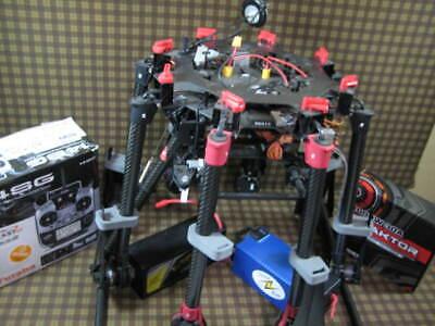 DJI S1000 Prompt DRONE W/ FUTABA A2 ISOD MKII TATTU JUICEBOX READY TO FLY