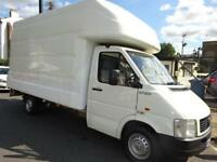 VOLKSWAGEN LT35 CHEAP LUTON VAN WITH TAIL LIFT NORTH LONDON NO VAT